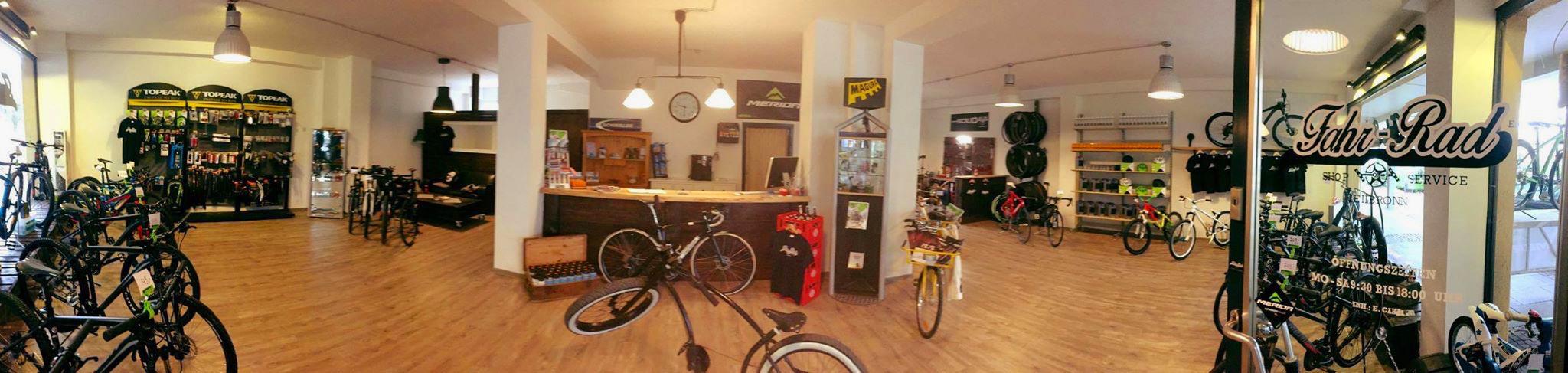 Fahr-Rad Shop Innen
