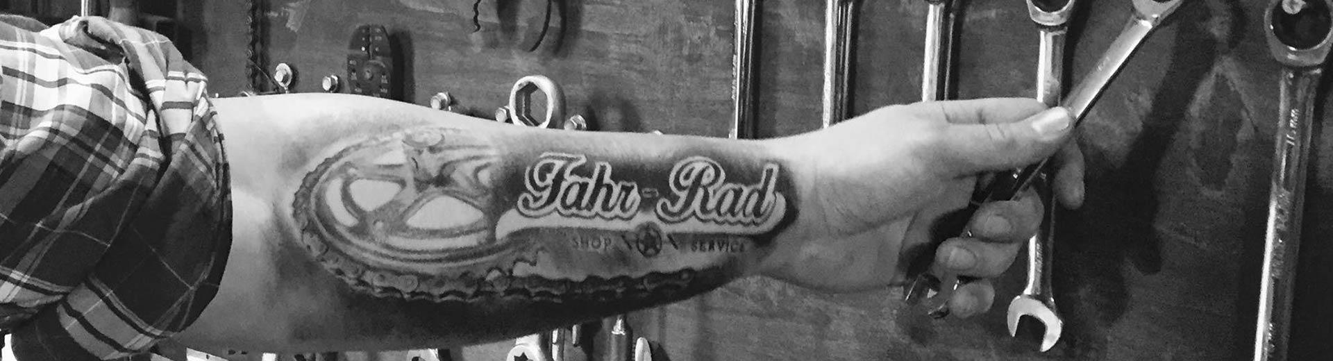 Fahr-Rad Tattoo